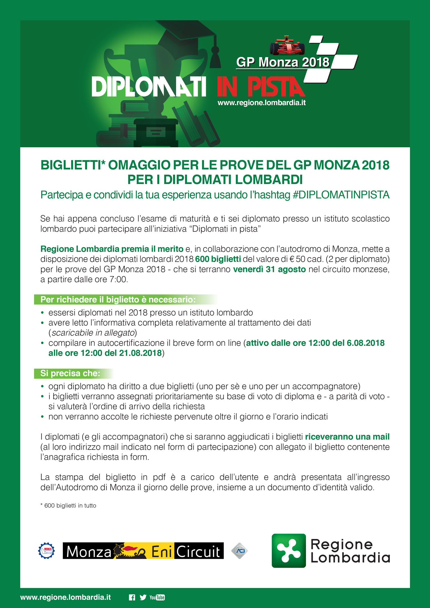 Avviso+ Diplomati+in+pista+gp+monza+2018