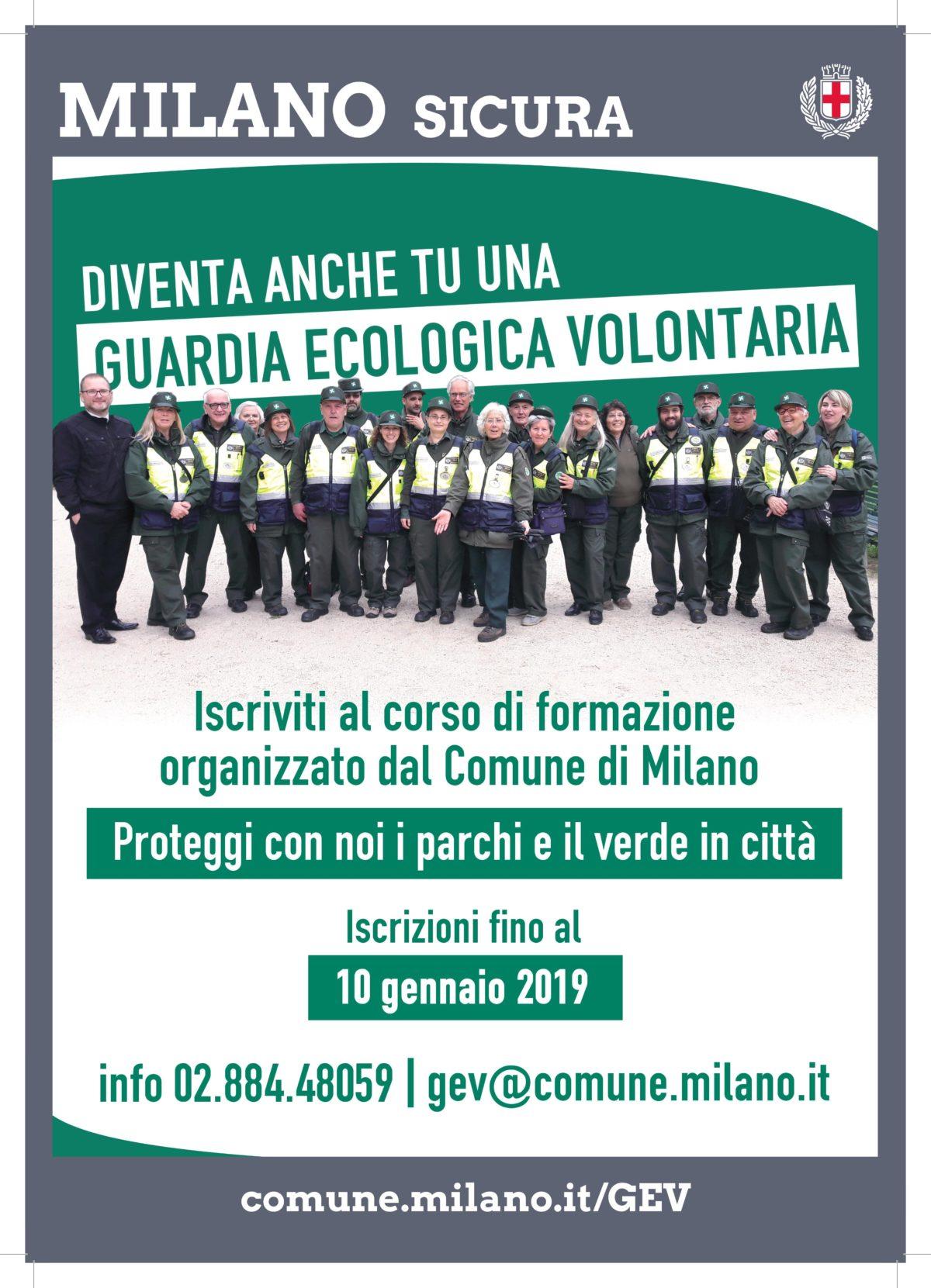 Corso di formazione per aspiranti Guardie Ecologiche Volontarie (GEV)