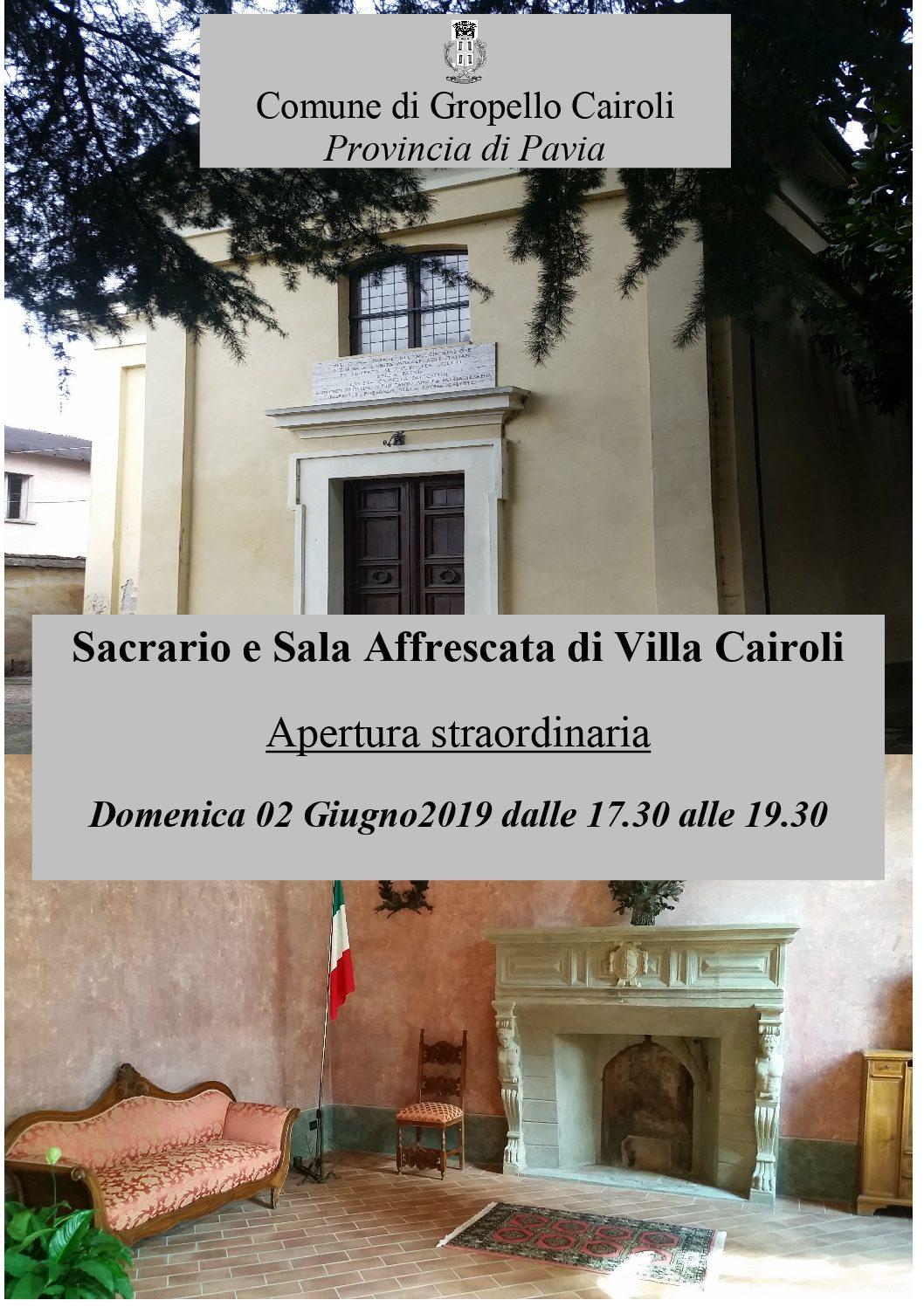 Apertura Sacrario 2019 – 02 giugno