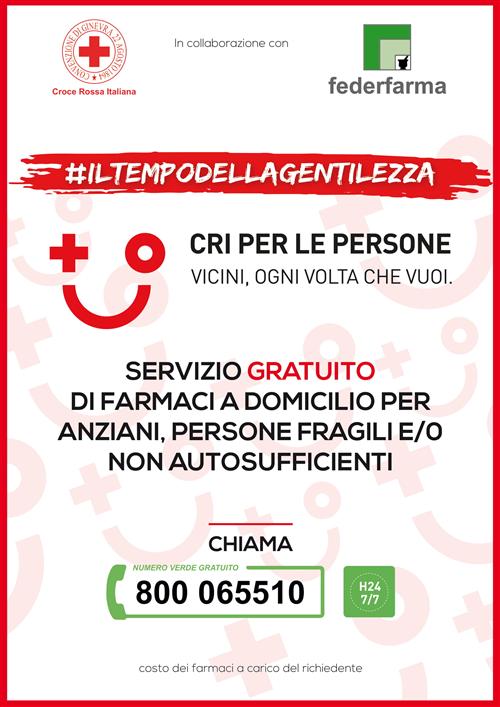 Locandina Croce Rossa Iltempodellagentilezza