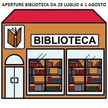 Biblioteca Aperture Da 29 Luglio A 1 Agosto