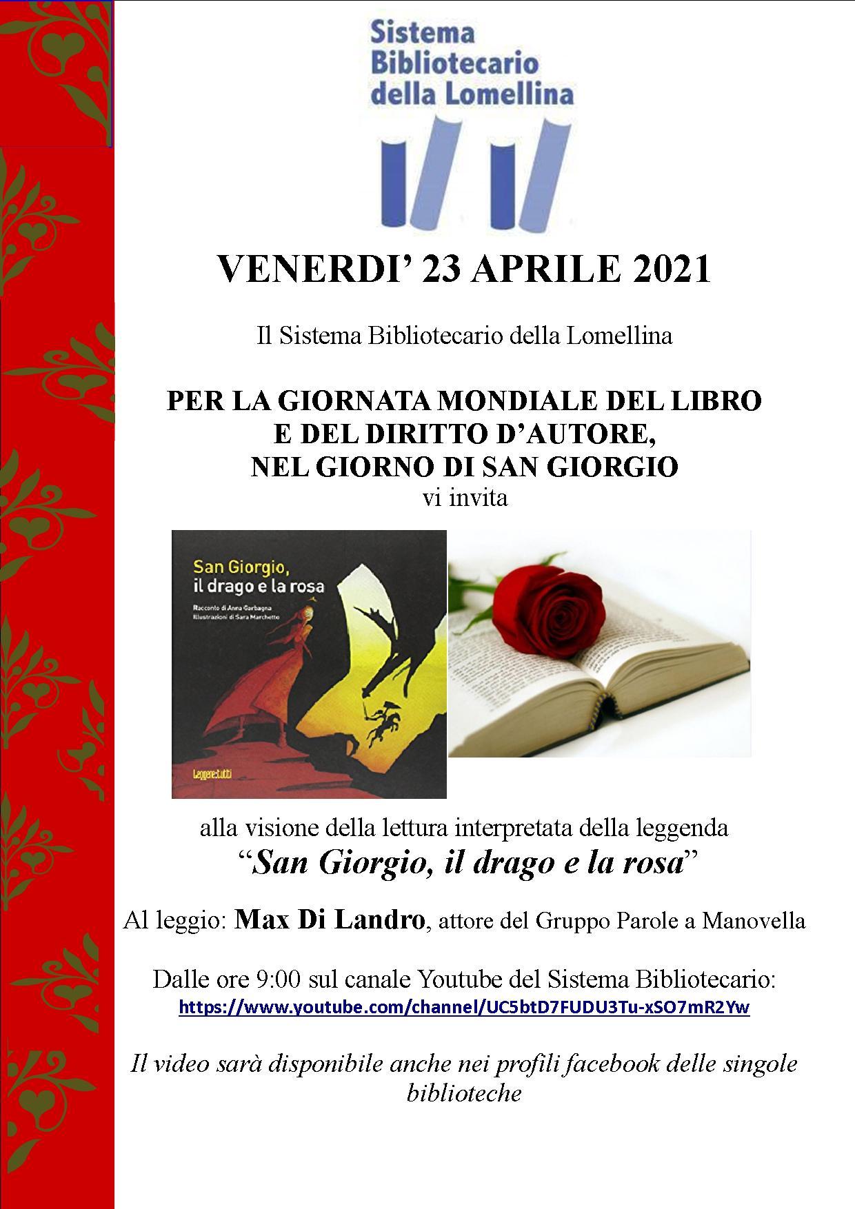 23 Aprile Per La Giornata Mondiale Del Libro E Del Diritto D'autore